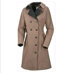 Columbia Dietrich softshell trench coat